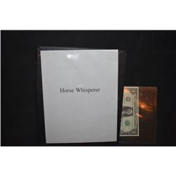 ZZ-CLEARANCE THE HORSE WHISPERER BTS PRODUCTION PHOTO BOOK