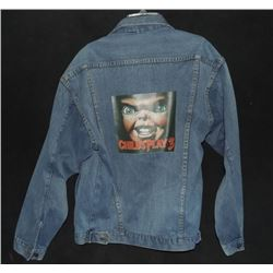 ZZ-CLEARANCE CHILD'S PLAY 3 VERY RARE CAST & CREW DENIM JACKET