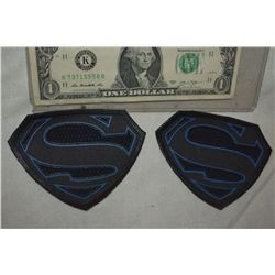 SUPERGIRL KRYPTONIAN GLYPHS BLACK SMALL LOT OF 2