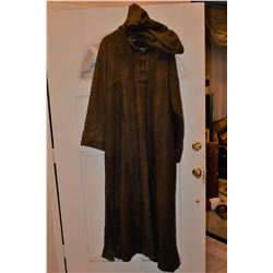 SEASON OF THE WITCH DEBELZAQ HOODED CLOAK MEDIEVEL TIMES