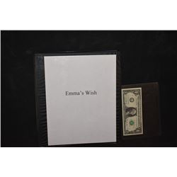 ZZ-CLEARANCE EMMA'S WISH BTS PRODUCTION PHOTO BOOK
