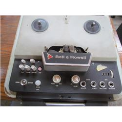 Bell + Howell Tape Recorder