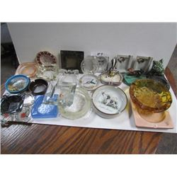 Lot of assorted ashtrays