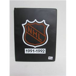 1991/1992 Kraft NHL Hockey Card Collection