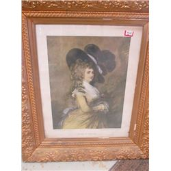 Dutchess of Devonshire Framed Art