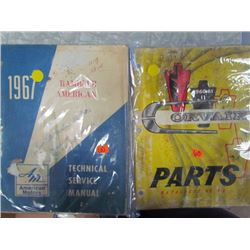 Corvair 1960-1961 Parts Catalogue + 1967 Rambler American Motors
