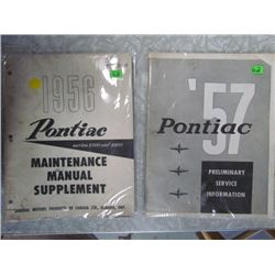 57' and 56' Pontiac Manuals