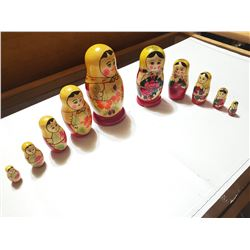 Two USSR Made Nesting Dolls