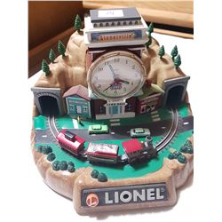 Lion Train Clock (Working Train)