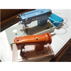 Two Toy Sewing Machines