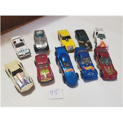 10 hot wheels from 70's
