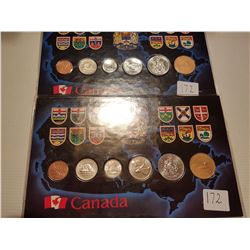 1992 and 1993 Uncirculated Sets