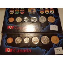 1989 and 1990 Uncirculated Sets