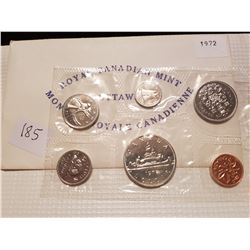 1972 Canada Coin Set PL Proof Like