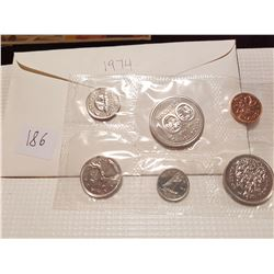 1974 Canada Coin Set Pl Proof Like