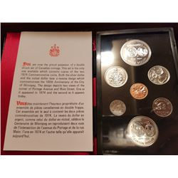1974 Canada coin set with silver dollar