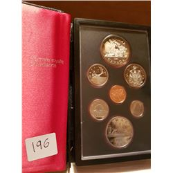 1981 Canada Coin set with silver dollar