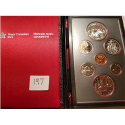 1980 Canada Coin set with silver dollar
