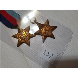"""France and Germany"" and WW2 Star Medals"