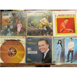 6 Country Records Lot