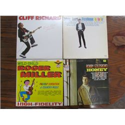 4 Rock & Roll Records Lot