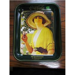 60th anniversary in Vancouver 1920- Garden Girl Coca Cola Tray