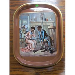 Only 500 made RARE The Romance Of Coca Cola Series Tray