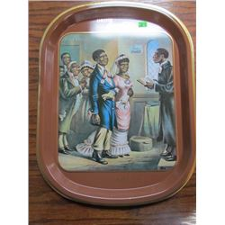 RARE The Romance of Coca Cola Series Tray