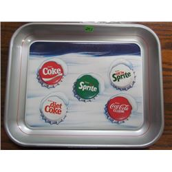 Snow Cap Coca Cola Tray