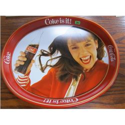 Kim Christmas Coca Cola Tray
