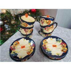 Flower Dish Set