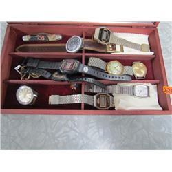 Watches Lot in jewellery box