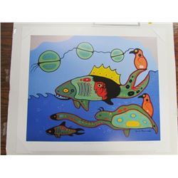 David Morrisseau Limited Edition Unframed Print