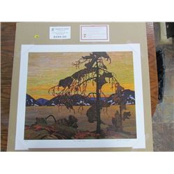 """Group of Seven Publishing"" Tom Thomson limited edition unframed"