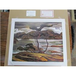 """Group of Seven Publishing""A.Y. Jackson limited edition unframed print"