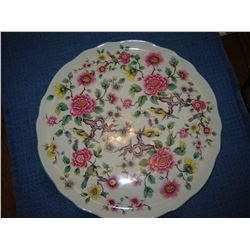 Old Foley Chintz platter Chinese Rose Pattern