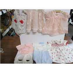 Lot of Assorted Vintage infant clothing