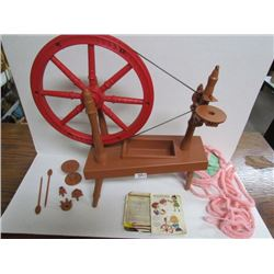 Child's Spinning Wheel (Remco? 60's)