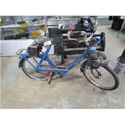 Volosolex Motorized Bicycle/Moped blue color