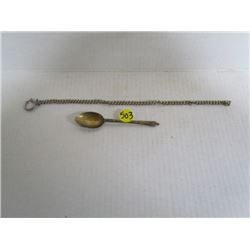 EPNS Spoon and Watch Fob