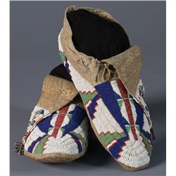 Beaded Northern Plains Moccasins
