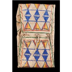 Blackfoot Painted Parfleche Envelope