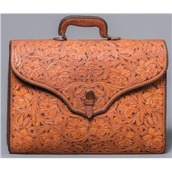 Keith Seidel Tooled Briefcase