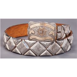 Sheriff's Posse Belt and Buckle by Rowell