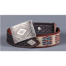 Alfredo Campos Horsehair Belt with Buckle