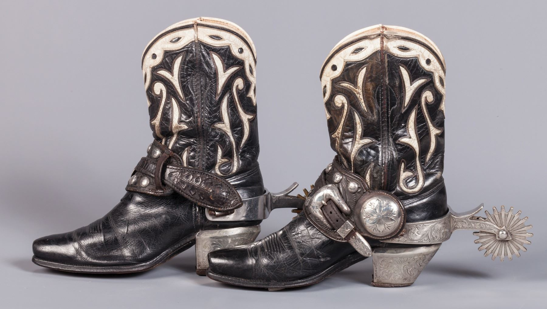 Edward H Bohlin Parade Spurs And Boots