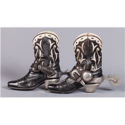 Edward H. Bohlin Parade Spurs and Boots