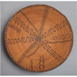Apache Coiled Basketry Tray