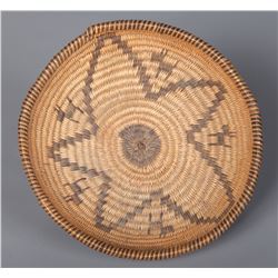 Southwest Pictorial Basketry Bowl