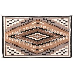 Room-size Two Grey Hills Weaving